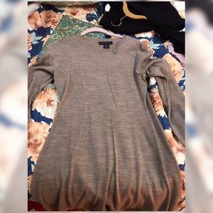 ELLE TAHARI GREY DRESS